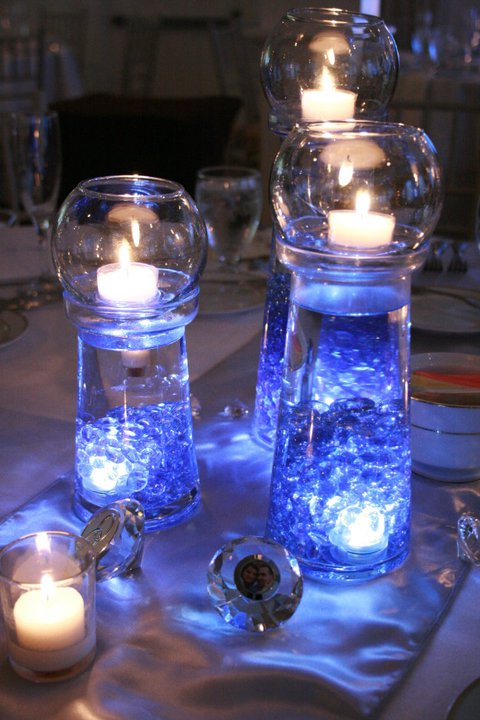 My DIY centerpieces way cheaper than flowers! :  wedding Centerpiece