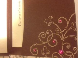 Michael s brides invitations weddingbee photo gallery for Michaels crafts wedding invitations