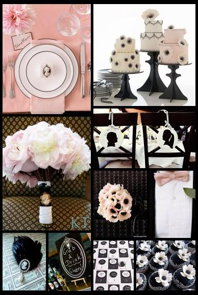 I am having a Light Pink Black and Ivory Wedding in May 2012