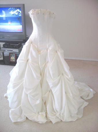 My wedding dress wedding dress Alfred Angelo Style R116 Wedding Dress