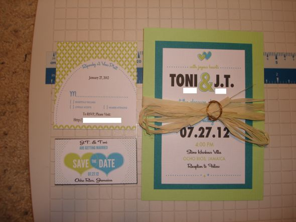 Destination Wedding DIY Invites wedding invitations DIY Invites