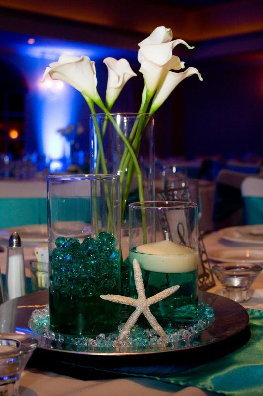 Formal Beach Themed Wedding