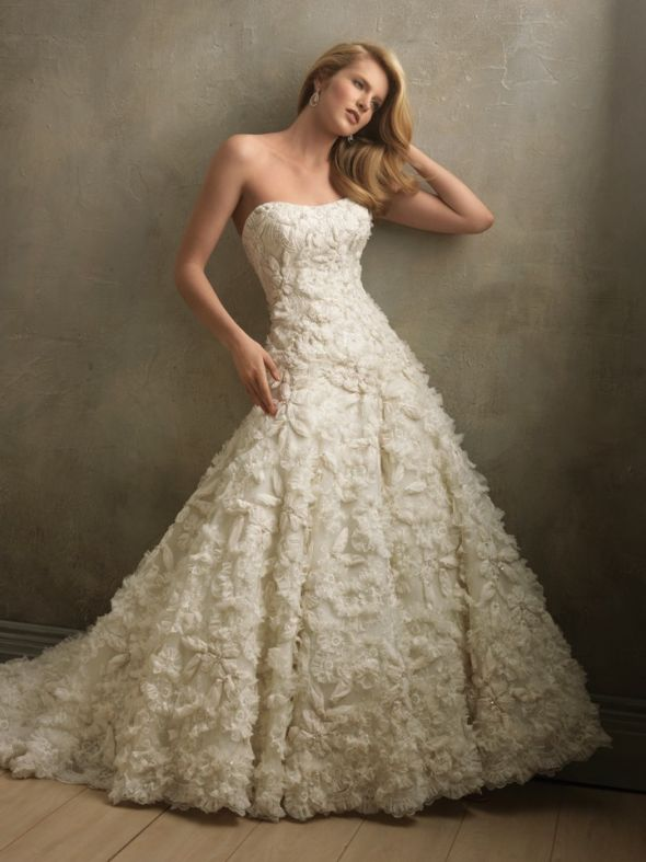 allure c 170 :  wedding PAAAIANBFGBFCBIL Allure Couture C 160 Wedding Dress White !!!! ;-) :  wedding lace white wedding dress detailed dress white allure couture couture used dress PAAAIANBFGBFCBIL
