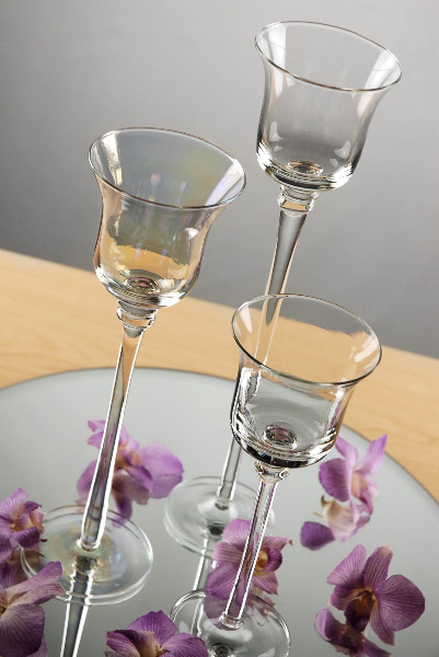 Clear vases wedding sale