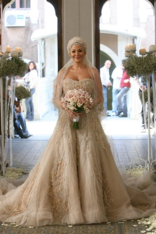 What do you think of this middle eastern style wedding dress?