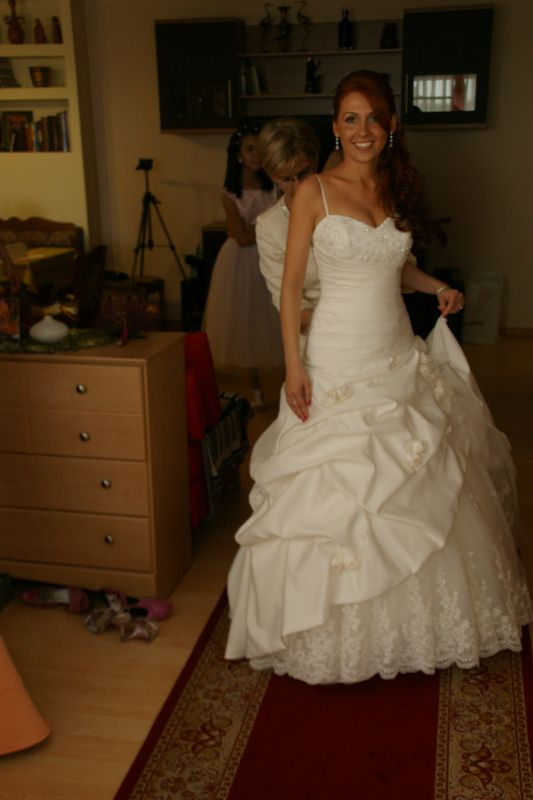 Demetrios 2010 platinum collection :  wedding dress ivory Preptime