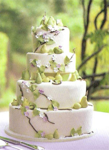 Image result for marzipan wedding cake