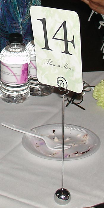 number holders wedding decorations table number holders silver diy