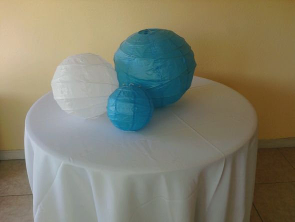 I will sell all lanterns for 30 shipping Turquoise