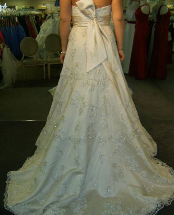 eggplant royal blue wedding used wedding gown ivory tall