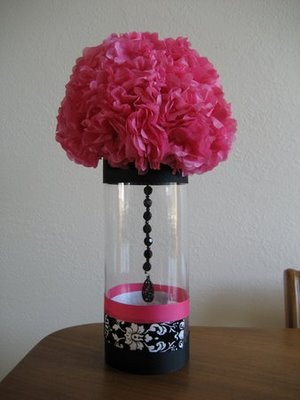 WANTED hot pink and black wedding decorations and ideas wedding black pink
