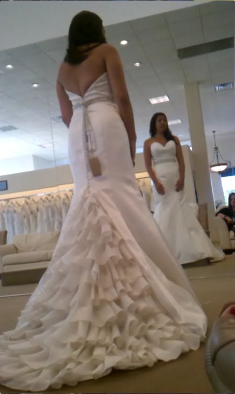 Where did you buy your blinged out belt sash for your gown for Blinged out wedding dress