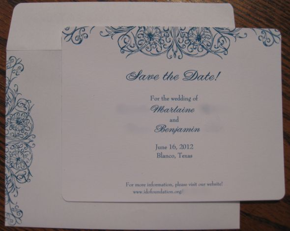 Vistaprint Invitations Wedding: My Invitation Samples From VistaPrint!! (pic Heavy