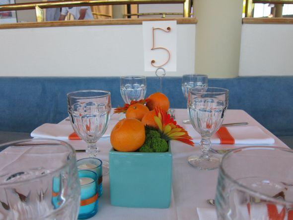 15 Turquoise Aqua Rectangular Planters for centerpieces wedding aqua teal