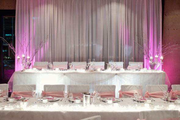 Quinceanera Head Table Decorations Photograph 590px