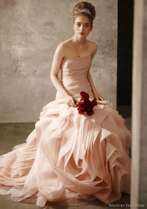 vera wang flower girl dress