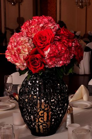 Black wedding centerpieces one of a kind MUST GO wedding decor