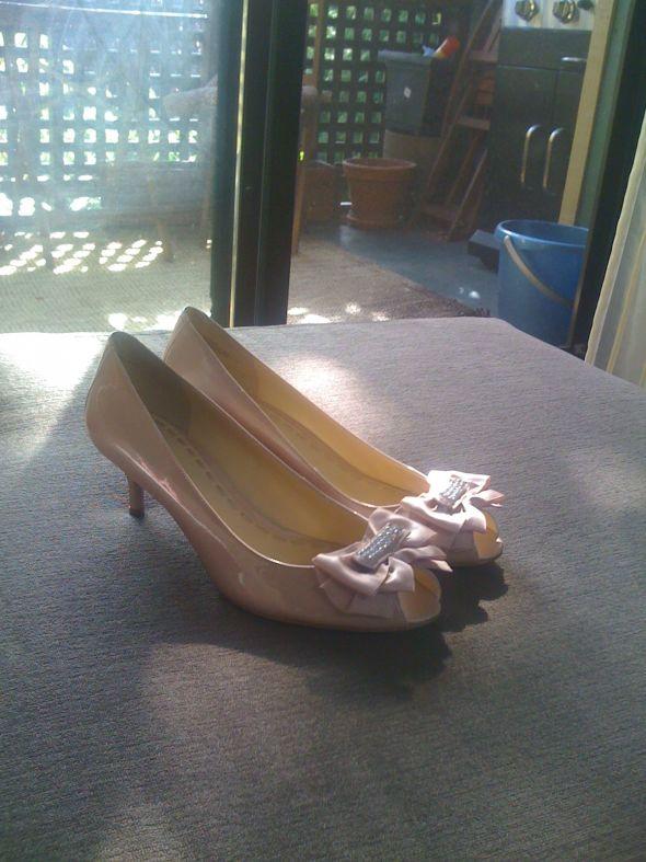 light pink small heels