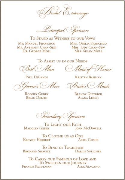 Sample Wedding Entourage List Invitation http://gal1.piclab.us/key/filipino%20wedding%20entourage%20list%20sample