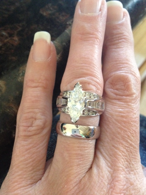 Carat marquise upgrade for our st anniversary