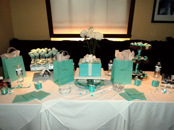 """Diva & Co"" a Breakfast at Tiffany's Champagne Bridal Brunch"