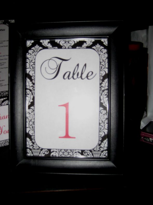 Damask table numbers Posted 9 months ago by Mfrs 20 number of comments