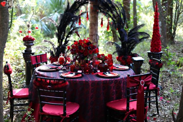 Victorian Gothic Halloween Wedding Ideas wedding Blog52