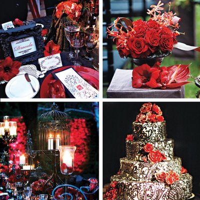 Victorian Gothic Halloween Wedding Ideas wedding Gothicchic