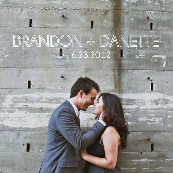 San Diego Skyline Modern Invitations :  wedding diy invitations modern skyline teal white Intro Card