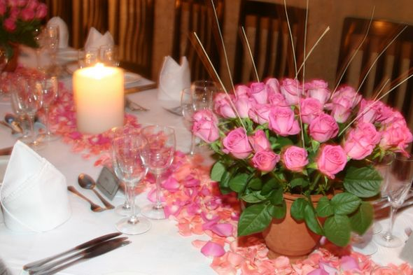 Wedding Centerpieces wedding diy wedding arrangements rose centerpieces