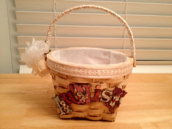 The Flower Girls' Baskets are Done!