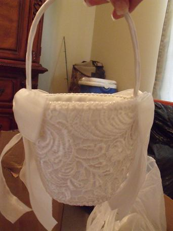 on both sides of handle top lined with pearls 1500 Wedding Decor