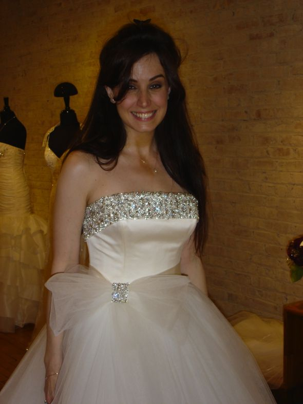 Wedding Dress Alterations Chicago Suburbs : Post the first dress you ever tried runner up