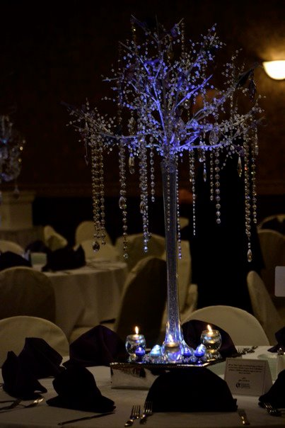 Beautiful Centerpiece :  wedding 318869 2199118330686 1029095340 32536436 785579279 N
