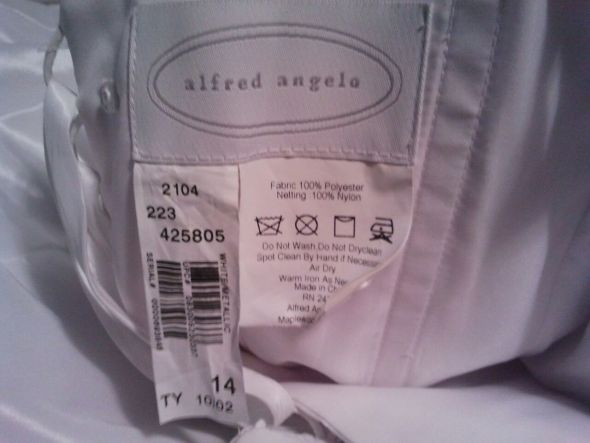 FS: Alfred Angelo 2104 **PIC HEAVY** :  wedding dress Tagdress