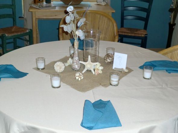 Todekas blog how whimsical and perfect for a beach wedding we rustic beach wedding items for sale wedding rustic beach starfish vases junglespirit Gallery