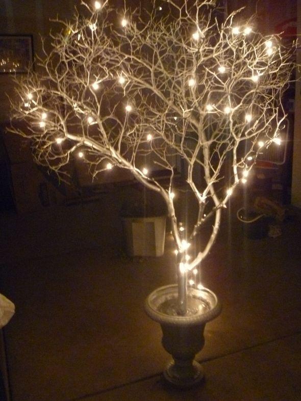Wedding Decorations Tiny Lights On Trees