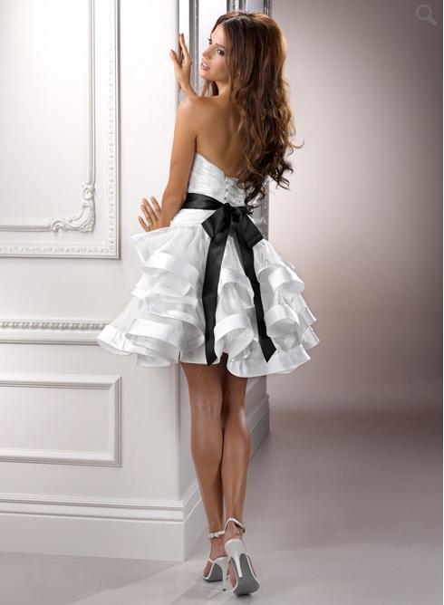 dress after weeding