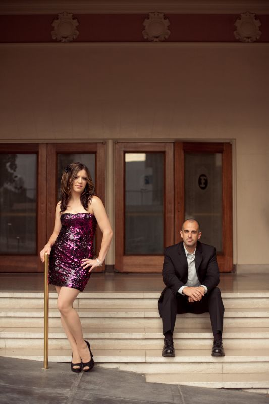"Our ""High Glam, High Fashion/ Romantic"" E-pic shoot! :oD :  wedding engagement purple Robin Jerry Engagement 0019"