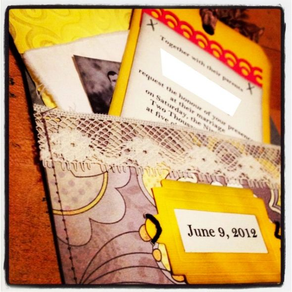 Vintage DIY Wedding Invite Posted 4 weeks ago by cls7112 in Invitations