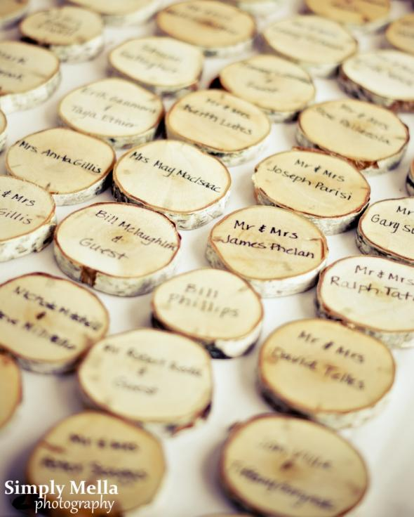 Escort Cards :  wedding diy reception Jd 1 27