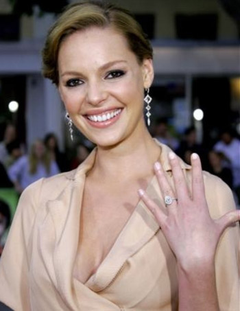 I have always loved Katherine Heigl 39s Celebrity Rings We Love wedding