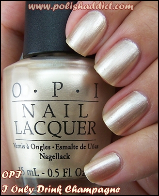 Opi i only drink champagne