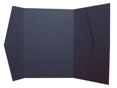 Cards and Pockets Invitation Supplies Navy Blue Dark Greay wedding