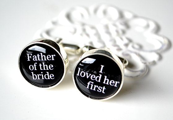Cufflinks for dad!