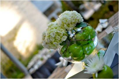 Green & Grey Post-Wedding Sale - Pomanders, Linens, and More! :  wedding pomander linen decor green ivory silver ceremony diy reception Picture2 Huge Post-Wedding Sale! Linens, Candles, Pomanders, and More! :  wedding linen napkin pomander candle green ivory silver cake ceremony diy reception Picture2