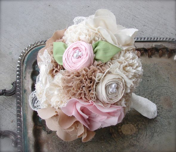 My bouquets :  wedding ceremony flowers 2