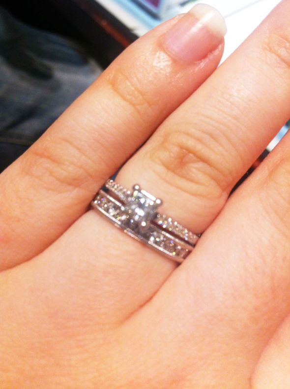 First Wedding Ring Shopping Trip Opinions needed