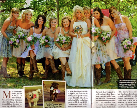 I am looking for ideas for country themed wedding with brown blue