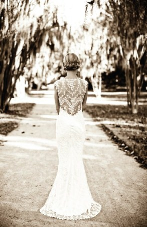 wedding Lace Back Wedding Dress Trends 2 months ago